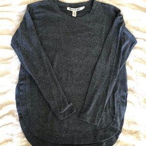 Michael Stars High-Lo Crew Neck Sweater